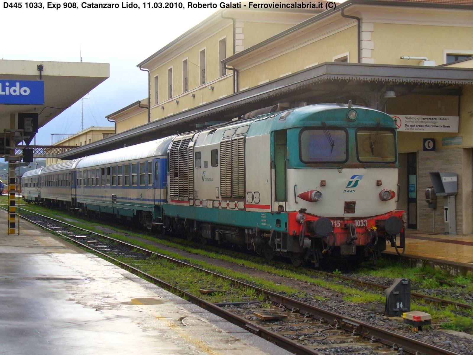 D445 1033-Exp908 CzLidoCrotoneBariTorinoPN-CatanzaroLido-2010-03-11-RobertoGalati