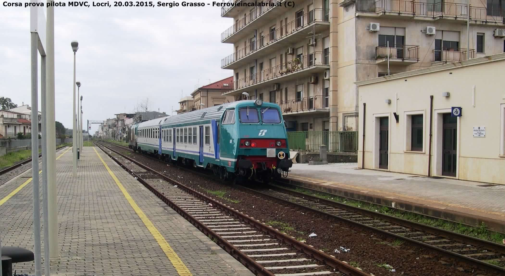 Navetta Mazinga in prova tra Reggio C. e Roccella - Locri 20.03.2015