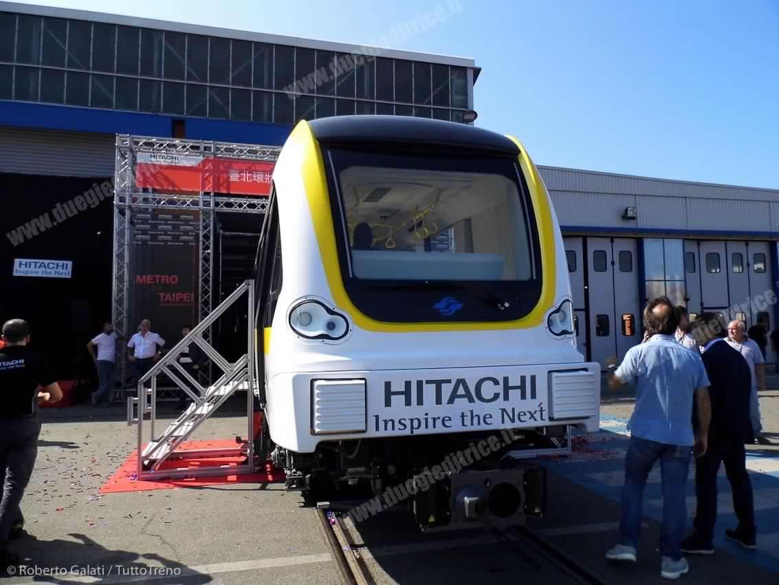 METRO TAIPEI Presentazione EMU001 Hitachi ReggioCalabria 2016 08 30 RobertoGalati 3-tuttoTRENO-wwwduegieditriceit
