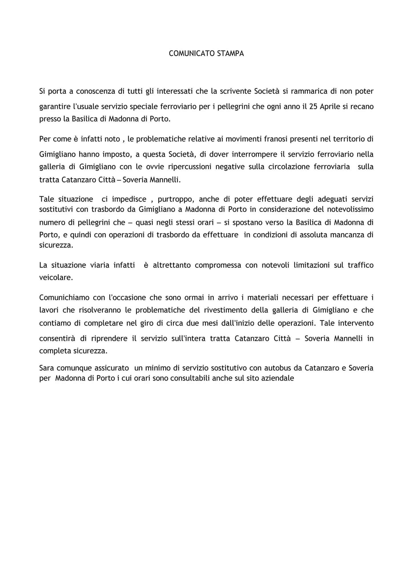 comunicato FC 250417