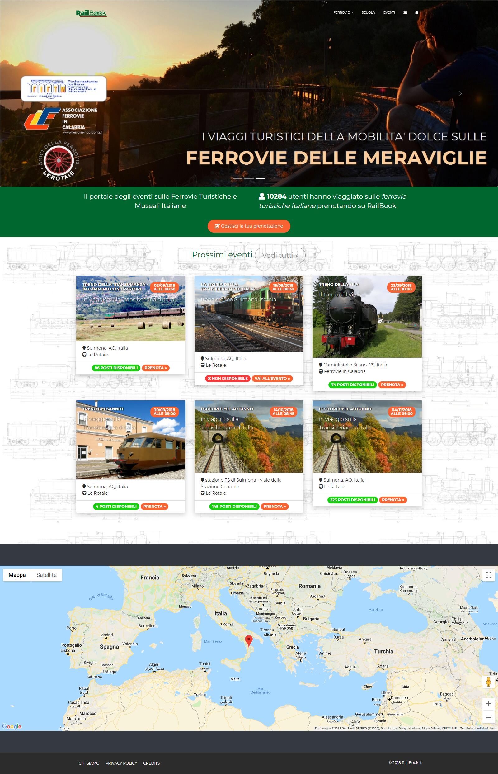 Homepage portale